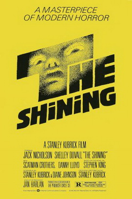 A poster for The Shining