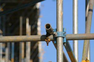 A scaffold.