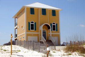 A beach house.
