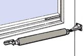 How to install the 40-077G out-swinging storm door closer