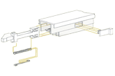 Slide Latch Assembly Diagram