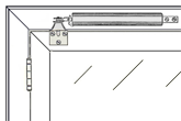40-006 In-swinging Door Bracket Installation