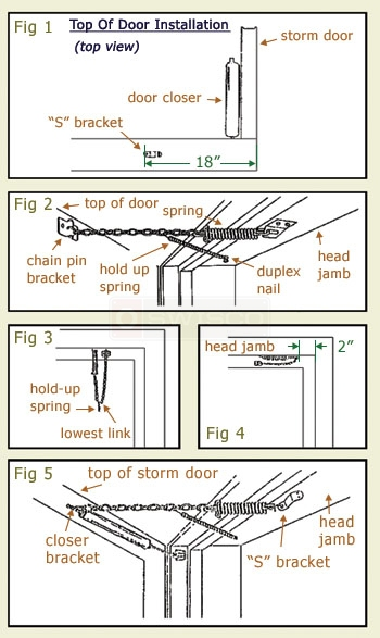 how to install a storm door safety chain video 2