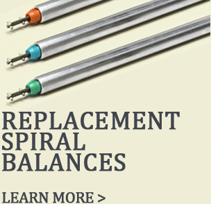Shop for replacement spiral balances