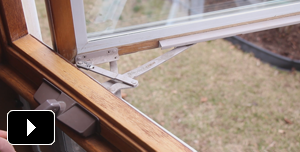 Learn how to replace a casement window crank operator.