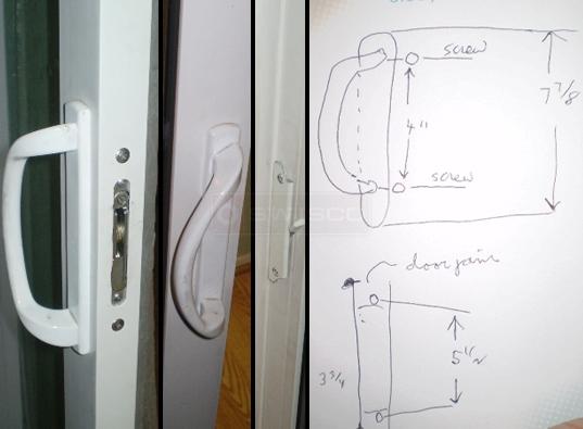 Patio door replacement handle swisco door handle planetlyrics Gallery