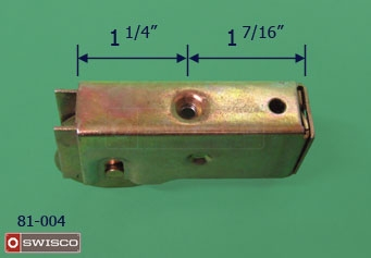 Photo of the top of the 81-004 replacement Air Control door roller.