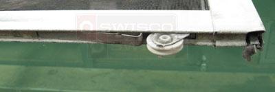 How Do You Remove The Andersen Upper Screen Door Roller