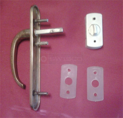 Customer image of their Forever door latch L635006