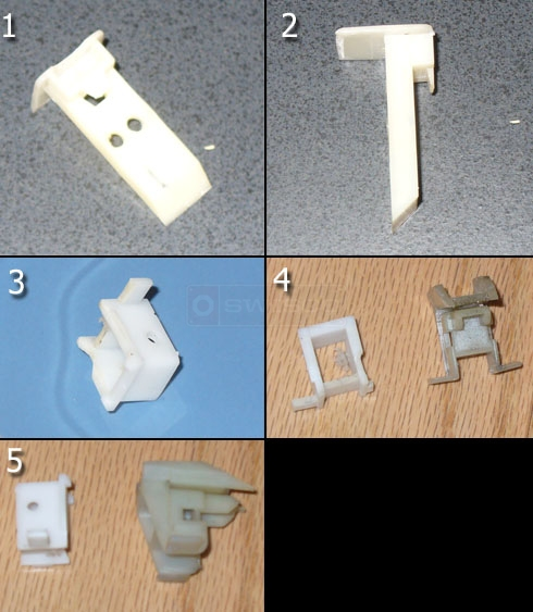 User photos of their window balance parts.