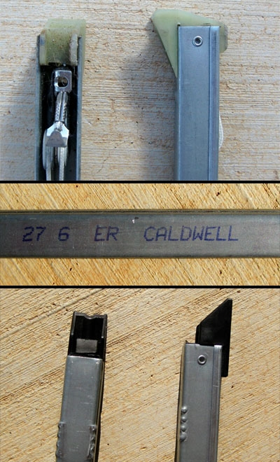 Photos of the customer's 27 6 ER Caldwell channel balance