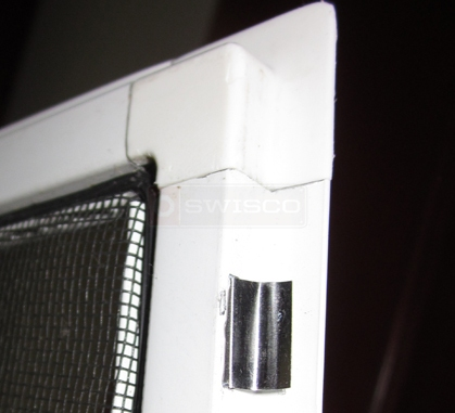 User photo of their lip bar casement screen tension spring.