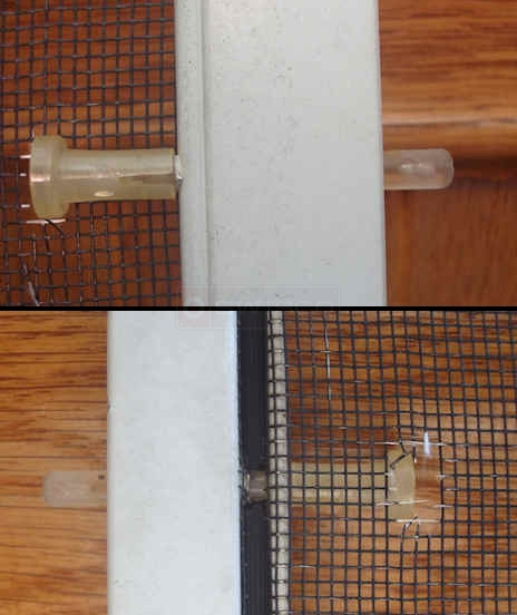 User photo of their Marvin window screen plunger pin.