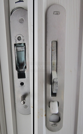 User submitted sliding door latch.