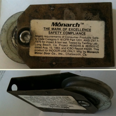 user submitted photo of monarch closet roller