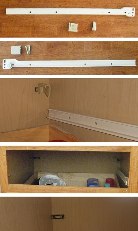 kitchen cabinet drawer replacement parts