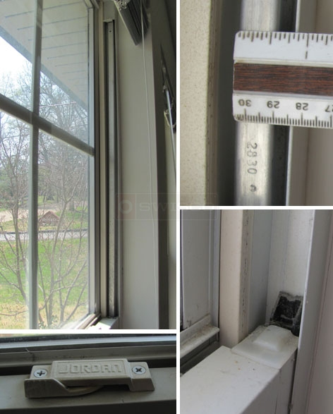 User submitted photos of their Jordan window sash support balances.