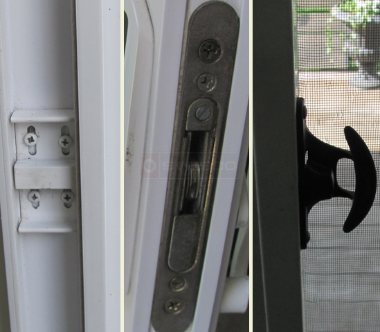 user submitted photo of superseal sliding door lock, handle and catch