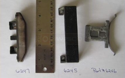 User submitted photo of their Allen-Stevens sliding window parts.