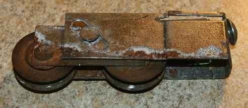 User submitted photo of patio door roller 1989