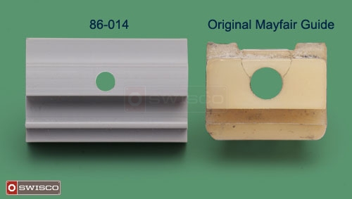 Comparison between the 86-014 and the original Mayfair guide.