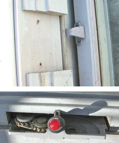 User submitted photos of their Pozzi casement window hardware.