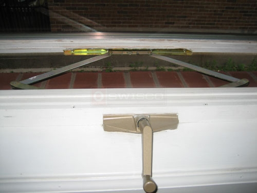 User submitted photo of their awning window crank operator.