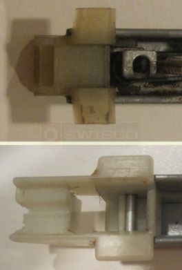 User submitted photo of channel balance attachments.
