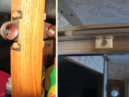 User submitted image of cabinet door latch.