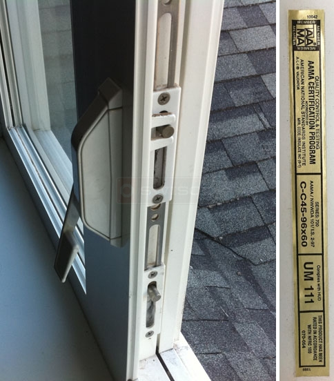User submitted photo of their Silverline window latch.