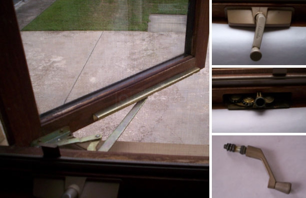 User submitted photos of their Lincoln window crank operator.