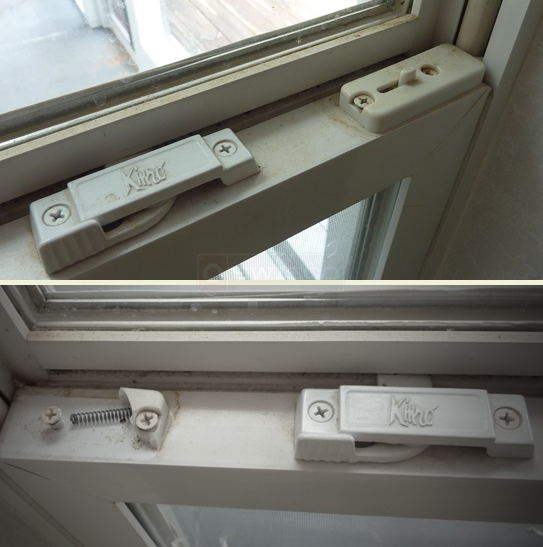 User submitted photo of window latch.