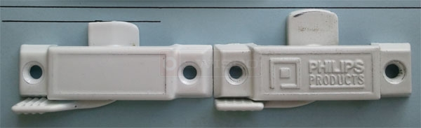 User submitted photo of their Phillips window lock compared to the <a href=
