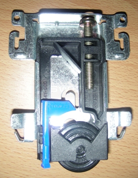 User submitted photo of 4212 Stanley Wardrobe roller assembly.