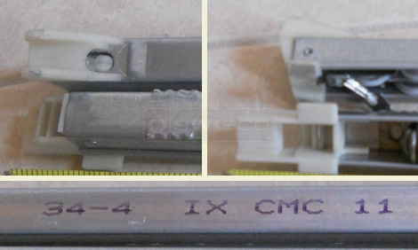 User submitted photo of channel balance attachments and channel.