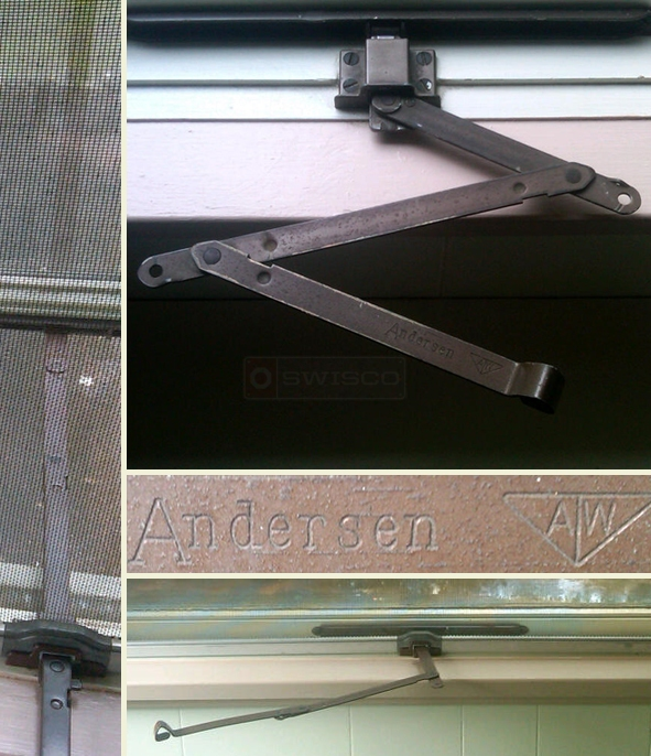 User submitted photos of their Andersen hardware.