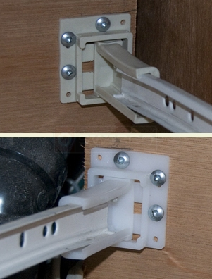 User submitted picture of drawer socket.
