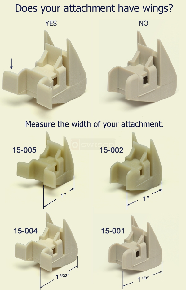 Swisco Channel Balance attachment guide.