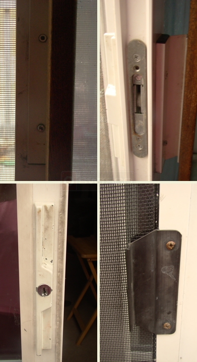A customer submitted photo of a door handle.