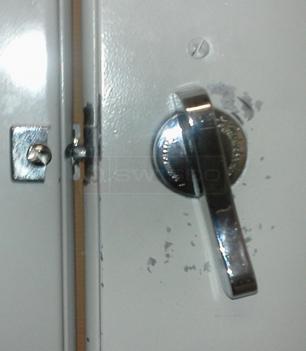 Restroom Partition Lock Swisco Com