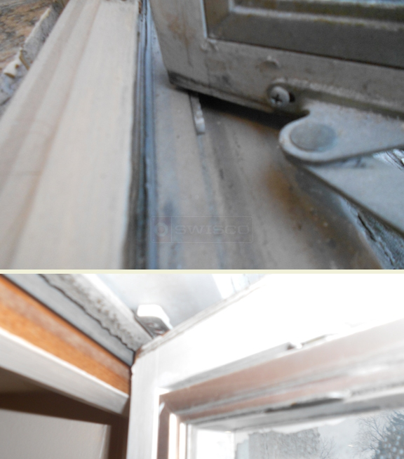 User submitted pictures of pella window assembly.