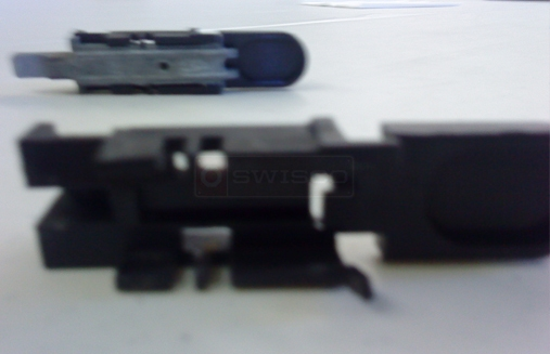 User submitted picture of pivot bar and casing.
