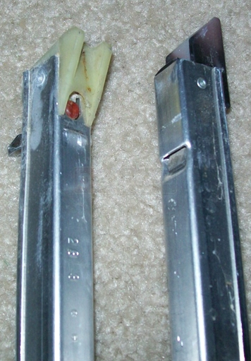 User submitted picture of channel balance attachments and stamp.