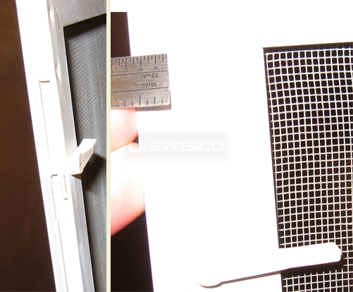 A user submited photo of window screen spring