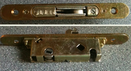 A user submited photo of patio lock