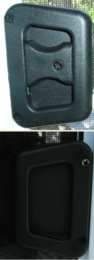 A user submited photo of screen latch