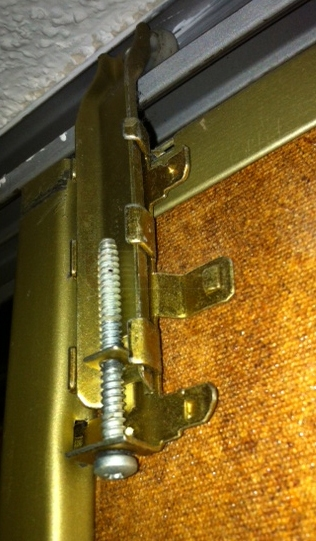 User submitted picture of bypass door guide roller.