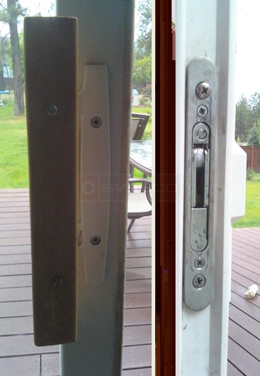 A customer submitted photo of a patio handle set.