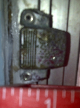 A customer submitted image of a window latch.