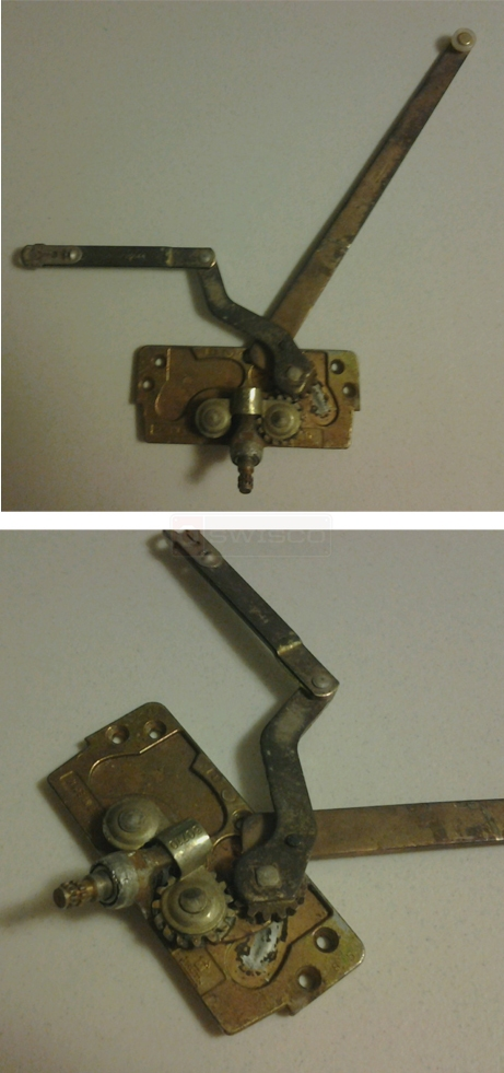 User submitted photos of a gear box for a window crank.